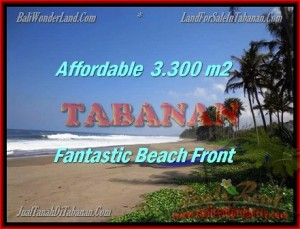FOR SALE Exotic 3.300 m2 LAND IN TABANAN TJTB157