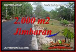 Beautiful JIMBARAN UNGASAN 2,000 m2 LAND FOR SALE TJJI133B