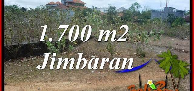 FOR SALE Affordable 1,700 m2 LAND IN JIMBARAN BALI TJJI130