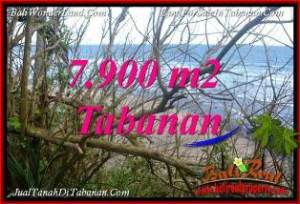 Affordable 7,900 m2 LAND IN TABANAN SELEMADEG FOR SALE TJTB392