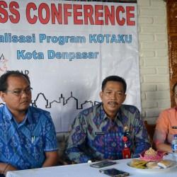 Sosialisasi dan Workshop Program Kota Tanpa Kumuh, Jumat (23/9) di Hotel Puri Kedaton Denpasar.