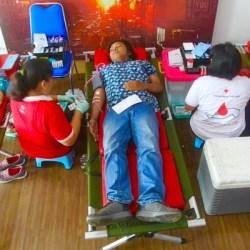 Puluhan Jurnalis Donor Darah