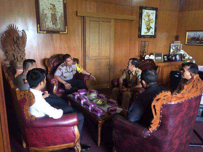 Kapolres Badung: Baliho Pilgub Jangan Berbau Ormas