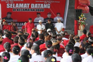 Kecamatan Ubud Komitmen Sapu Bersih Suara untuk Koster-Tjok Oka dan AMAN