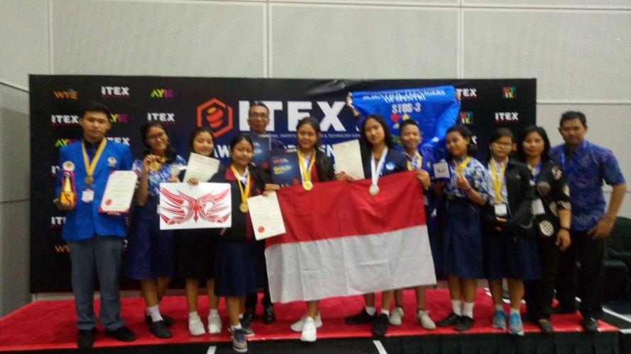 Bali Raih Empat Emas dan Special Award di WYIE 2018
