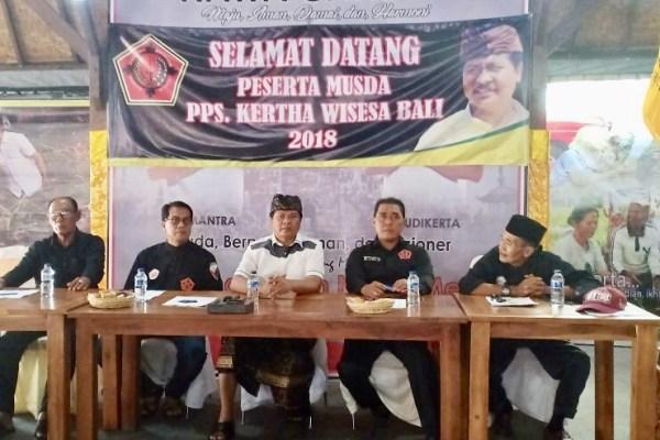 Perkuat Jati Diri Organisasi, Gus  Adhi Pimpin Kertha Wisesa Bali