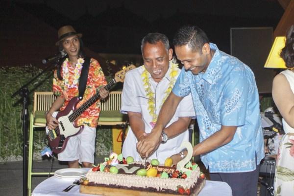 """Semarak """"Hawaiian"""" Dalam HUT Ke-2 Novotel Bali Ngurah Rai"""