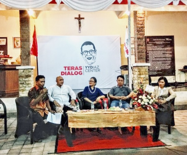 Yosep Diaz Gelar Dialog 'Unik' Menyambut Pilpres dan Pileg 2019