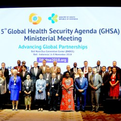 Bali Tuan Rumah Global Health Security,  Menteri  49 Negara Hadir Membahas  Ketahanan Kesehatan Global