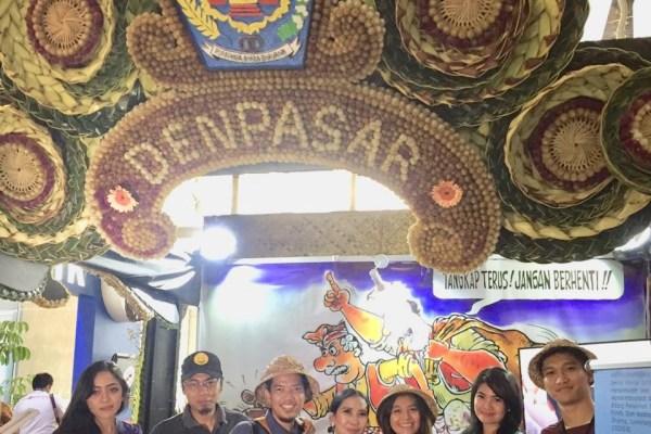 Kedepankan Budaya, Stand Kota Denpasar Curi Perhatian Pengunjung