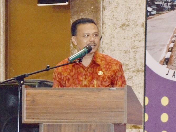 Sekda Dewa Indra : Infrastruktur Penting Bagi Pertumbuhan Ekonomi