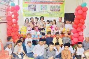 Dit Binmas Polda Bali Berbagi Kasih dengan Anak Yatim serta Anak Terlantar