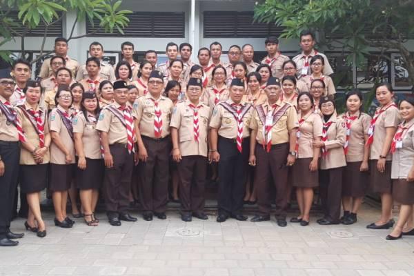 Kwartir Cabang Denpasar Gelar Pembinaan KMD