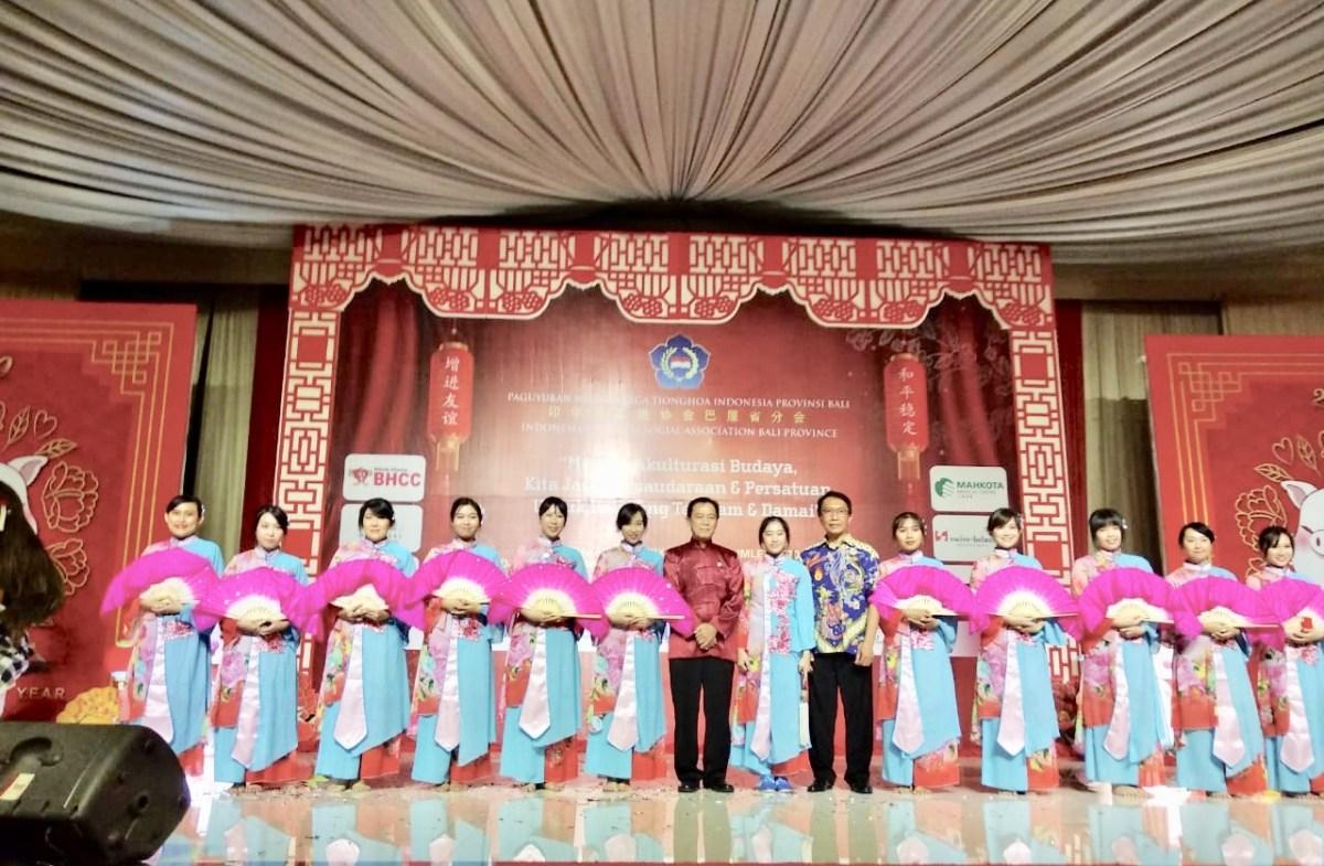 Perayaan HUT ke-19 PSMTI Bali,  Akulturasi Budaya Bali dan Tiongkok Sudah Berabad-abad