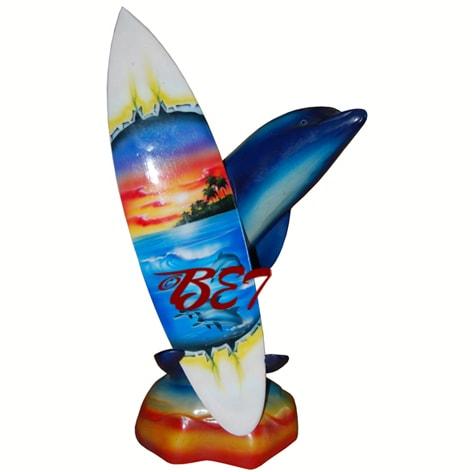 airbrush mini surfboard