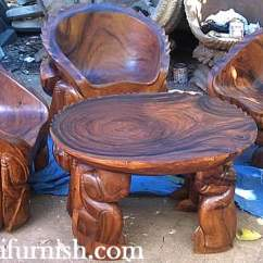 Wooden Hand Chair Bali Stool In Spanish Crab Table And
