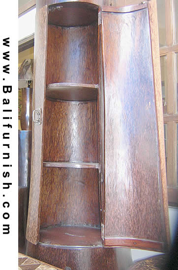 Palm Tree Wood Cabinet Made in Indonesia