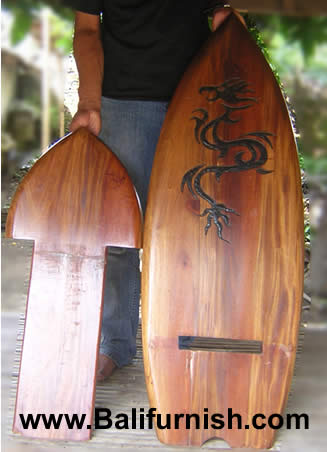 wooden hand chair bali wedding cover hire perthshire teak wood surfboard from indonesia