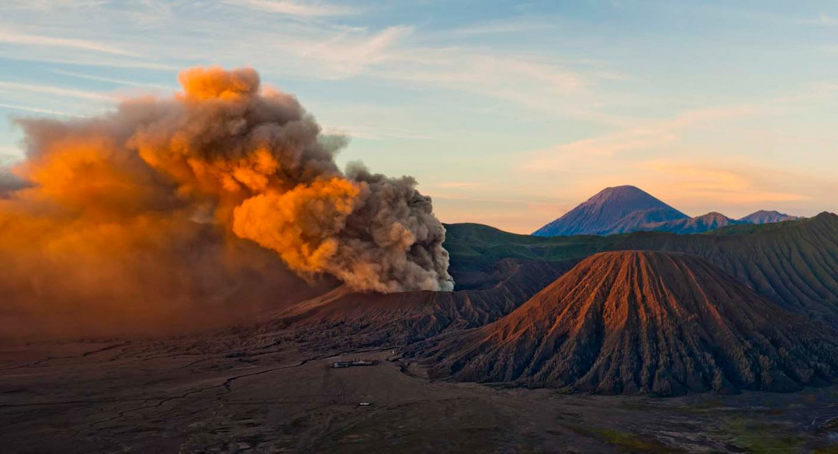 Increasing Bromo Mount Volcano Being Anticipated