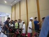 fireeye, singapore, bali, csr, corporate, social, responsibility, charity, orphanage, bali csr, bali charity, bike present