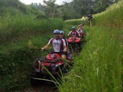 amlin singapore, amlin, atv riding, treasure hunt, team building, river treck, river