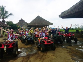 amlin singapore, amlin, atv riding, treasure hunt, team building, atv, riding, atv riding