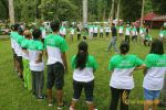 warisan group, warisan group ice breaking, ice breaking, bali treetop adventure