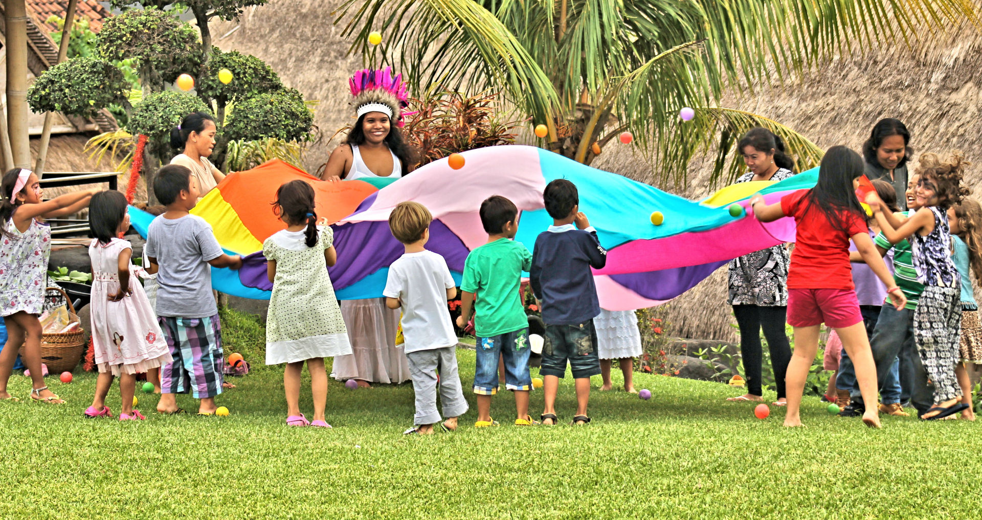 bali kids party party
