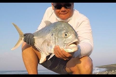 Kıyıdan kaşık ile balık avı