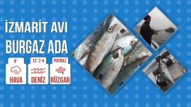 İzmarit Avımız Burgaz Ada Ocak 2020