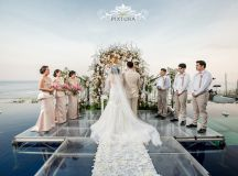 Latitude Villa Bali – Bali Water Wedding – Eldwin & Shilla