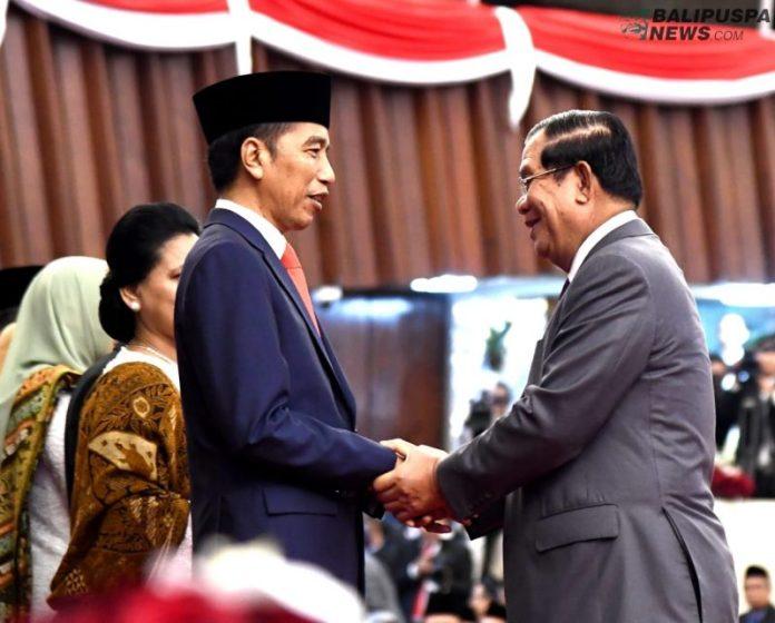 Presiden Joko Widodo bersyukur bahwa pelantikan Presiden dan Wakil Presiden Republik Indonesia untuk periode 2019-2024