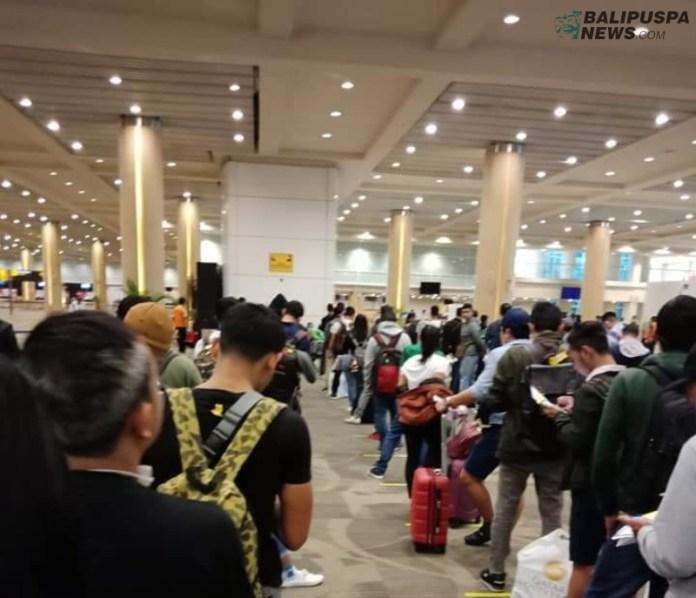 Migran di Bandara Ngurah Rai
