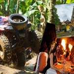 Bali ATV Quad Bike and Bali Zoo Dinner with Elephant