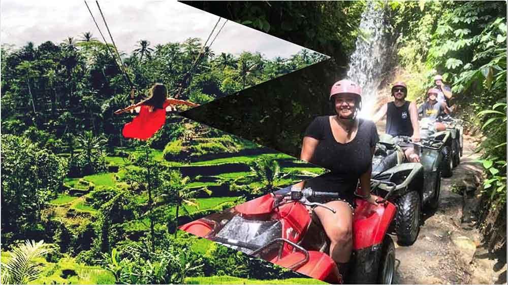 kuber bali atv and jungle swing adventure