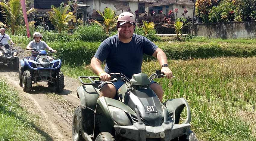 ATV Quad Bike Riding Bali