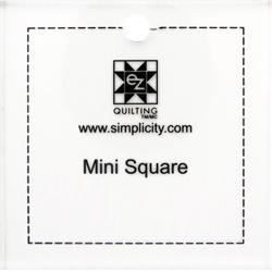 Kvadratiske linealer til patchwork og quilt
