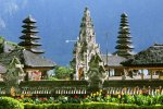 beratan temple, ulun danu, bali, bedugul, beratan, temples, ulun danu temple, bedugul bali, places, places of interest, lakes, temple on lake, bali temple on lake