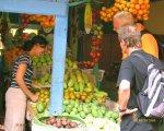 fruit shops, badung, traditional, market, denpasar, city, traditional market, badung traditional market, denpasar market