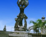 stone statue, bali, art, center, denpasar, places, interest, places of interest, bali places of interest