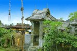 entrance gate, house entrance gate, penglipuran village, bali, ancient village, bali ancient village, penglipuran village bali