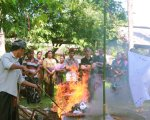 burning dead body, ngaben ceremony, bali cremation tour, cremation ceremony