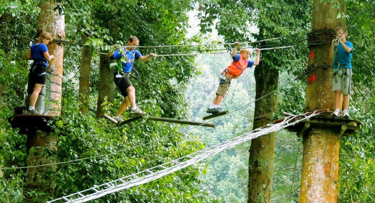 Bali Treetop Adventure Park – Bedugul Botanical Garden