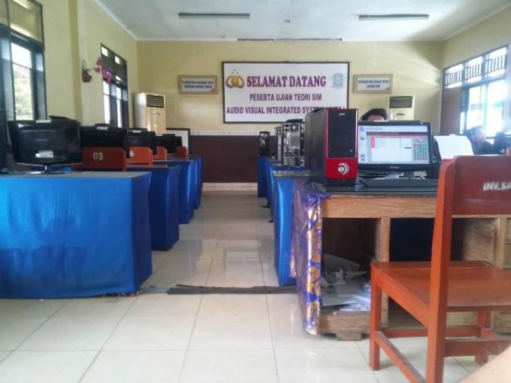 Exam Room at Bali Police Office