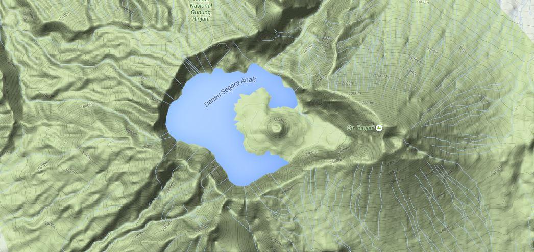 Mount Barujari Cone