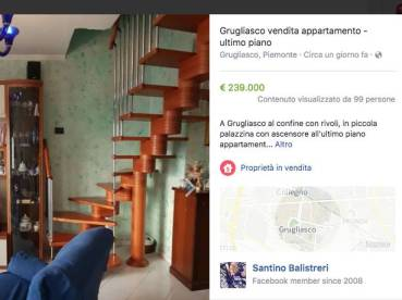 Facebook marketplaces per vendere a casa