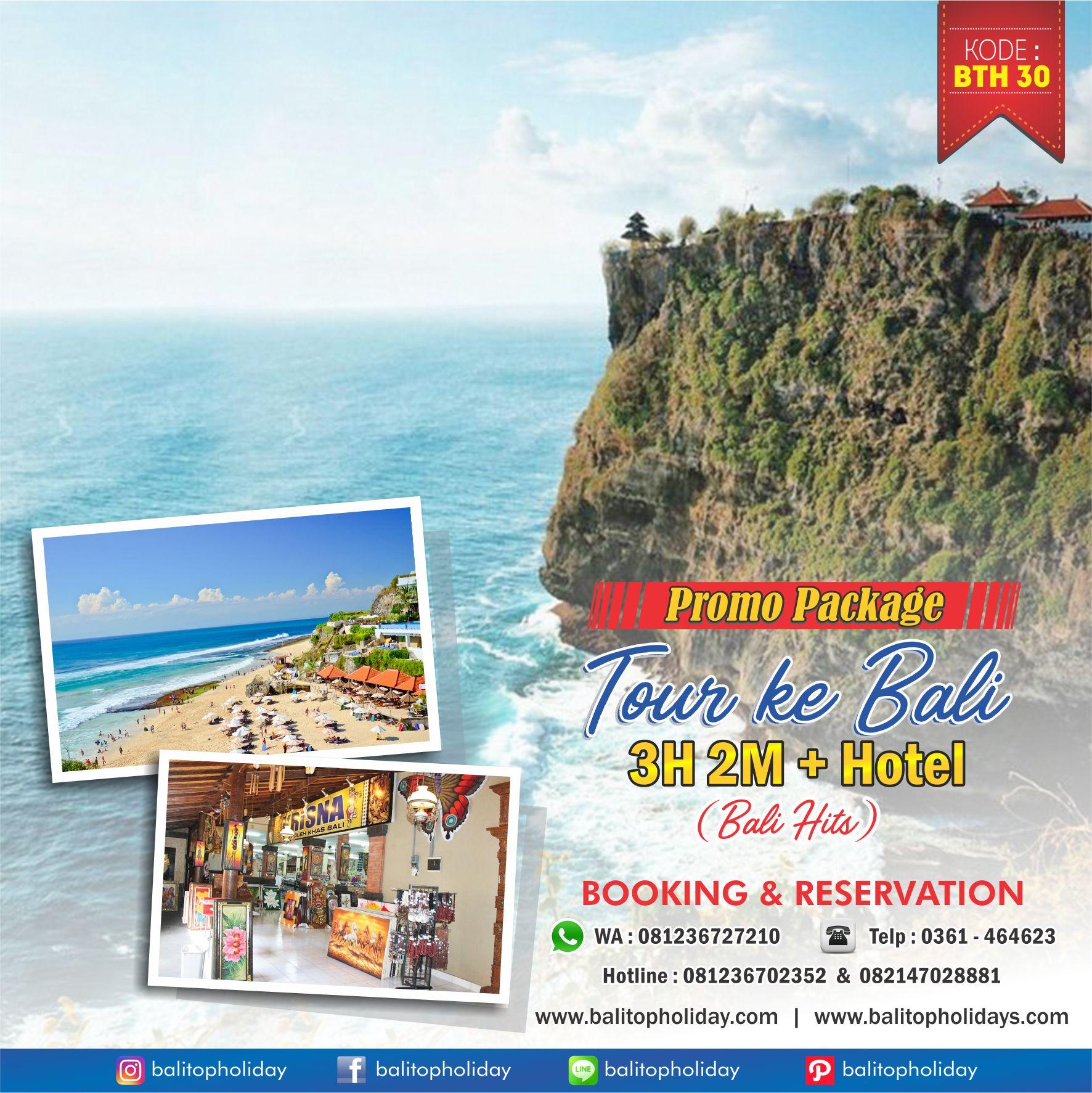 Paket Tour Bali 3H 2M BTH 30 Bali Hits