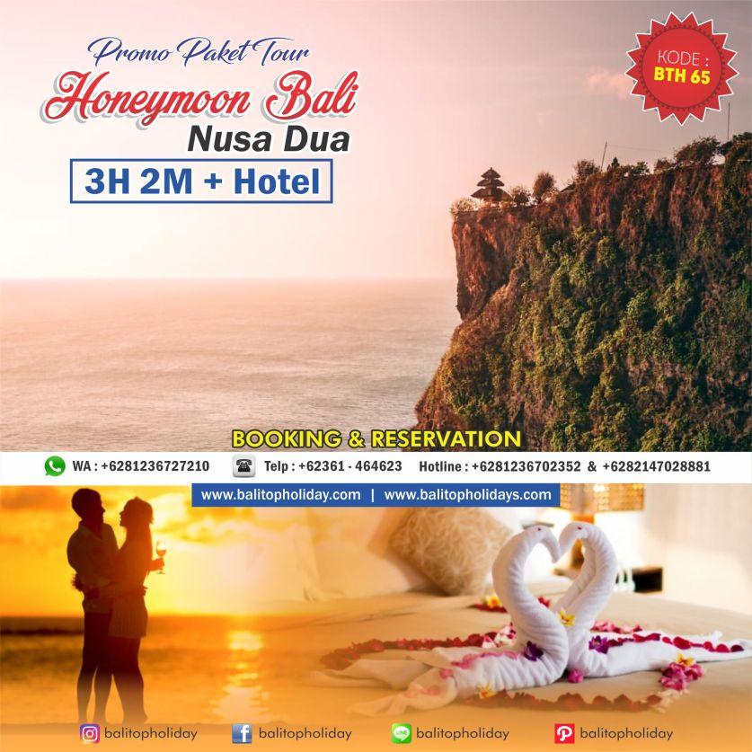 PAKET TOUR HONEYMOON BALI NUSA DUA