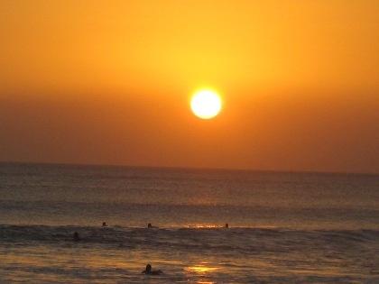 Objek wisata Sunset - Pantai Kuta Bali