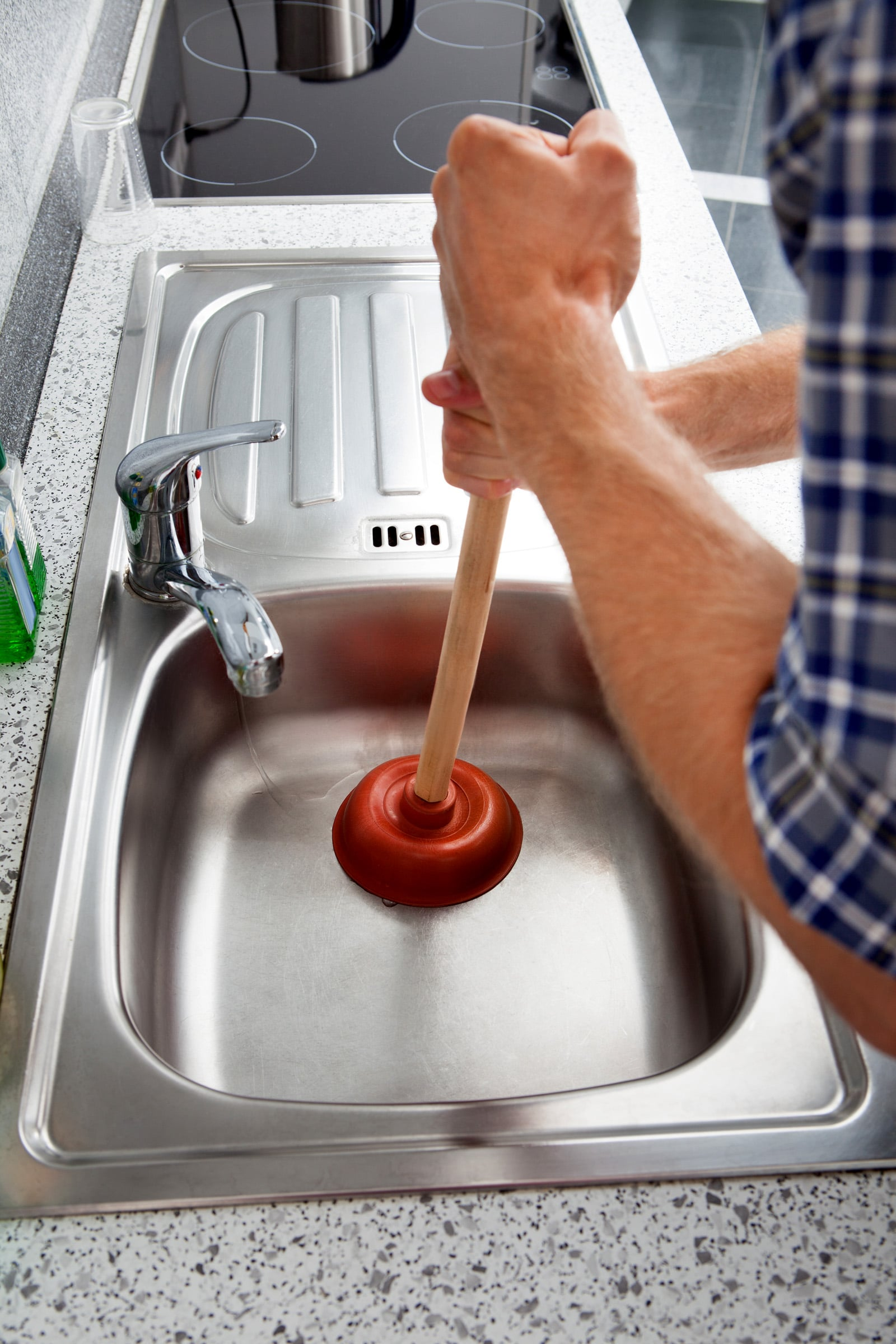 a clogged sink has many causes many